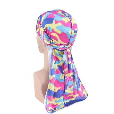 Multicolored military durag - Durag-Shop