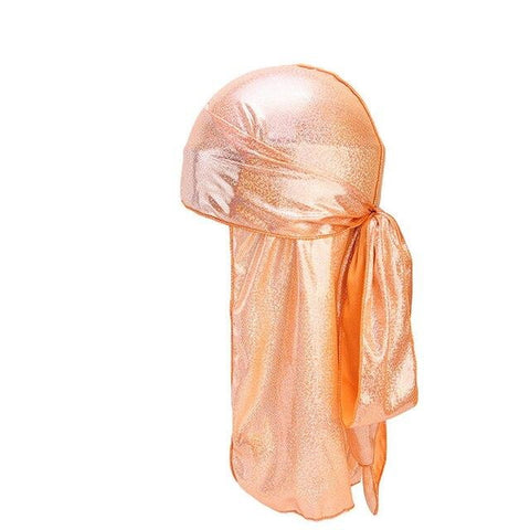 Orange fluorescent durag - Durag-Shop