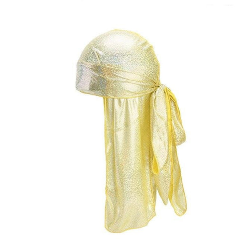 Yellow durag fluorescent - Durag-Shop