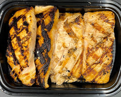 Bulk Grilled Salmon - Cal: 221 P: 32 C: 0 F: 10 (Per 6oz Serving)