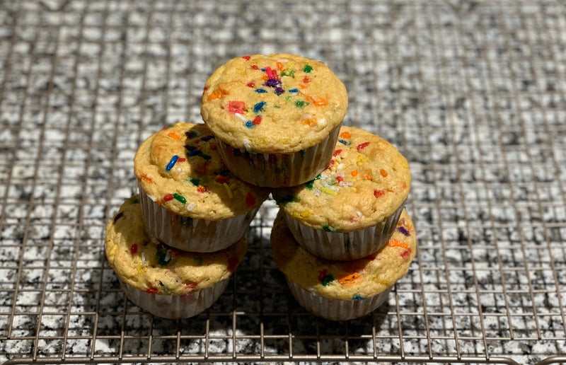Sprinkle Protein Muffins