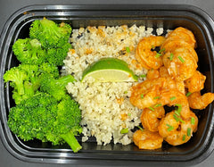 *Lower Carb* Peri Peri Shrimp - Cal: 224 P: 33 C: 19 F: 5 Net Carbs: 13