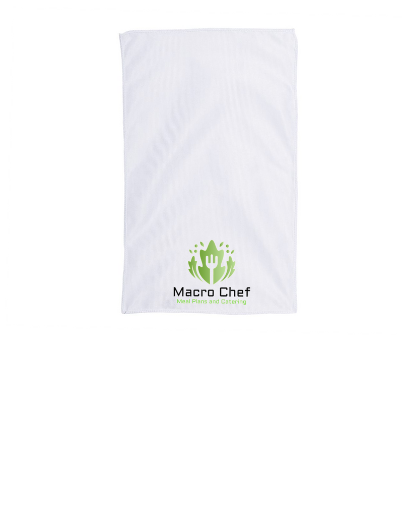Macro Chef Meals and Catering Gym Towel