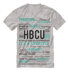 HBCU Lifestyle White Shirt