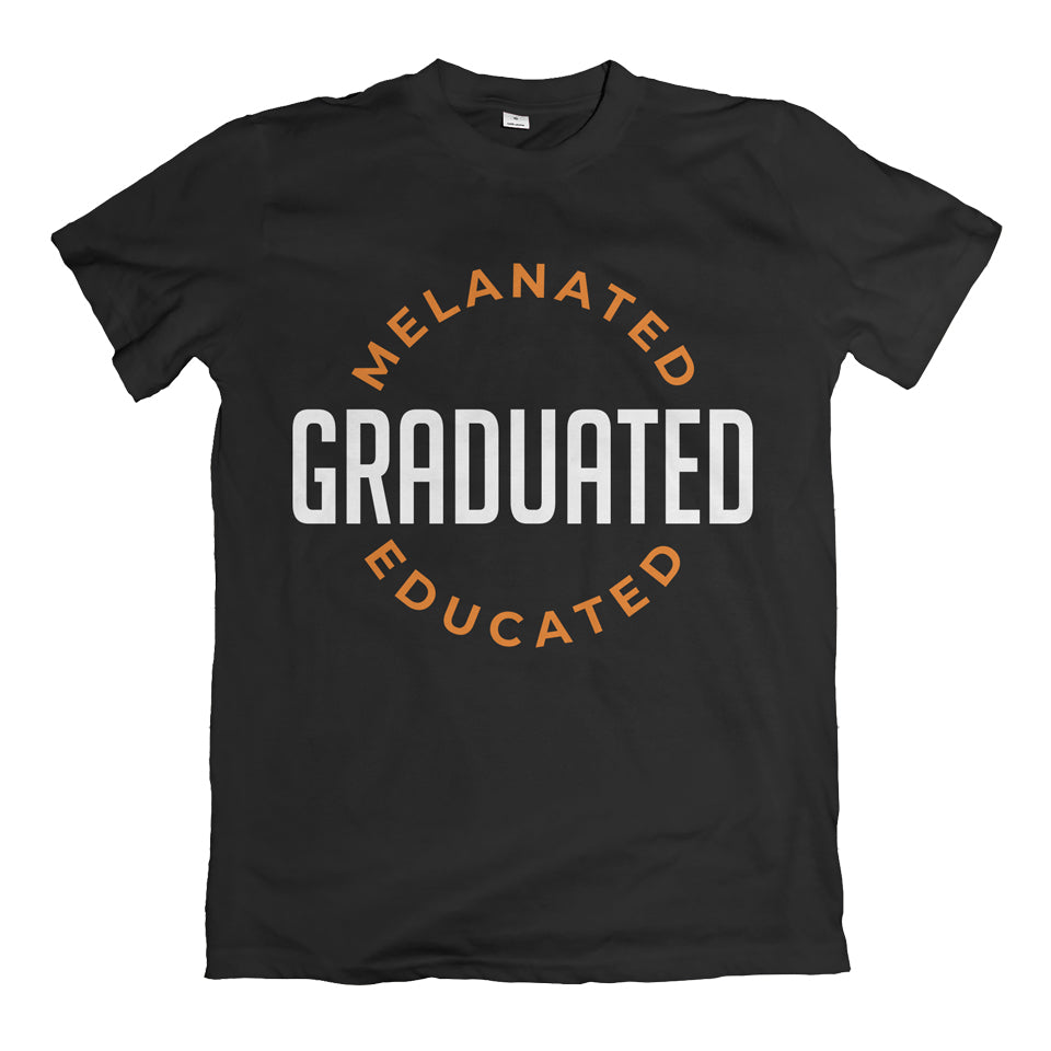 Melanated Graduated Golden Rust T-Shirt
