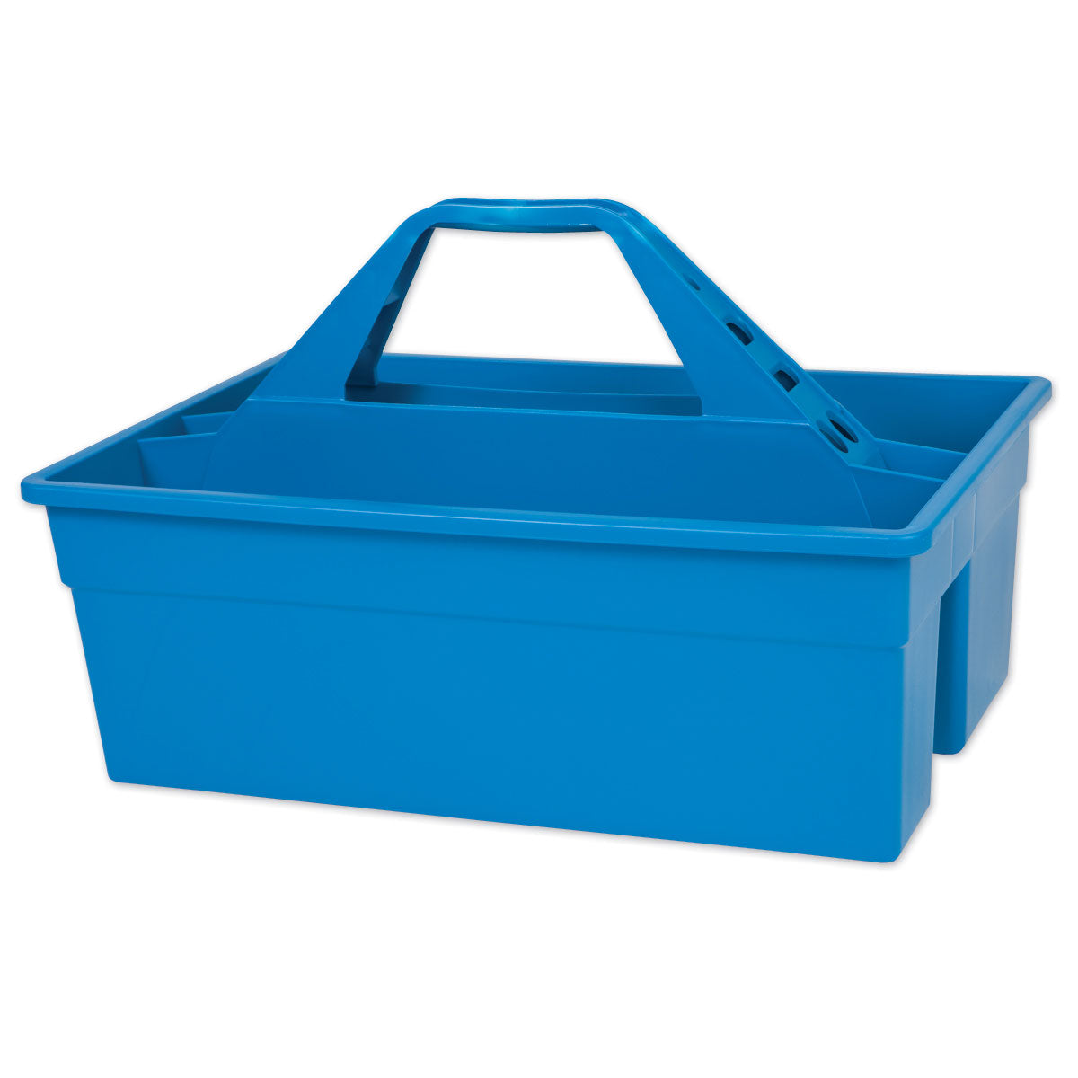 Blue Plastic Tote Caddy