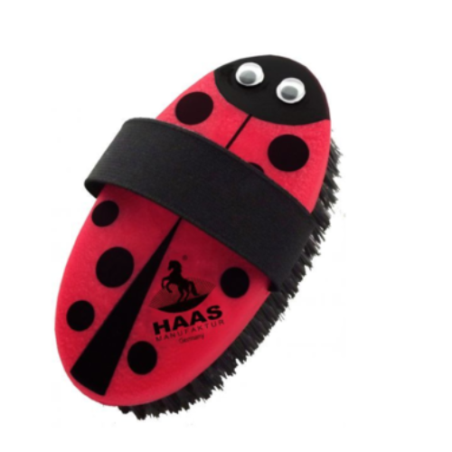 HAAS Mary Ladybug Kids Brush