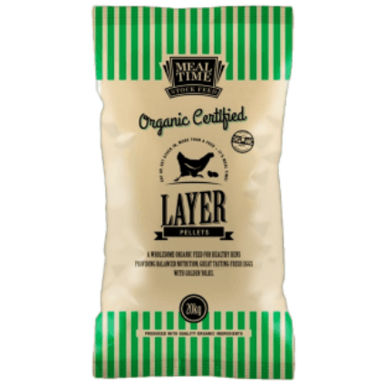 Meal Time Organic Layer Pellets 20 kg