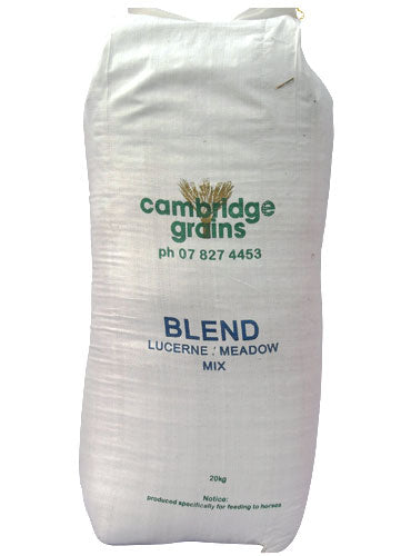 Camb Grain Lucerne/Meadow Chaff Mix 20 kg