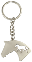 Key Ring Horse Silhouette