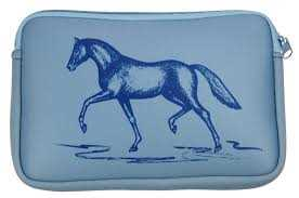 Horse Neoprene Zipper Bag