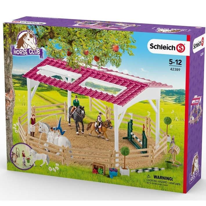 Schleich Horse Club - Riding School w Riders