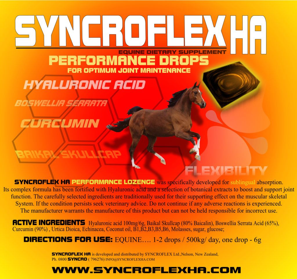 Syncroflex HA Performance Drops