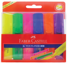 Faber Castell Highlighter Textliner Wallet of 6