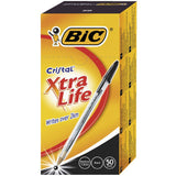Bic Xtra Life Medium Ball Point Pen Box of 50