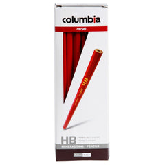 Columbia Cadet Hexagonal Grey Lead Pencils