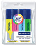 Staedtler TextSurfer Highlighters Wallet of 4