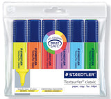 Staedtler TextSurfer Highlighters Wallet of 6