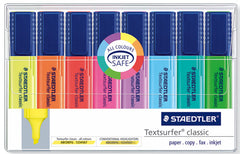 Staedtler TextSurfer Highlighters Wallet of 8