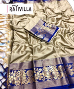 The DRM Pure Soft Cotton Silk Saree