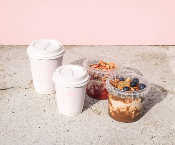 Coffee on Pinks, Coffee and Breakfast Pots