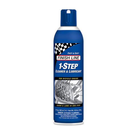 FINISH LINE 1-STEP CLEANER & LUBE AEROSOL 17oz