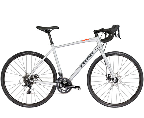 An image of a 2018 trek CrossRip 1 commuting bicycle