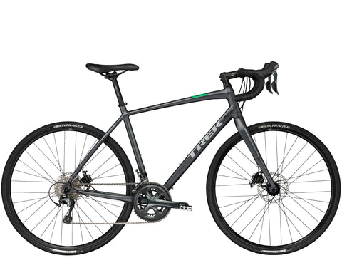 An image of a 2018 Trek CrossRip 2 commuting bicycle