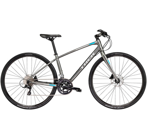 An image of a 2018 Trek FX S 4 Women's recreational fitness bike