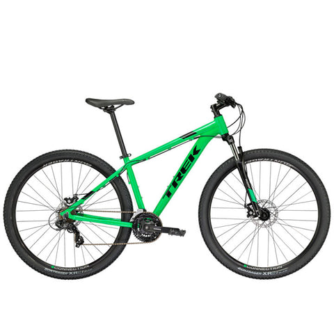 An image of a 2018 Trek Marlin 4 cross country style hardtail MTB