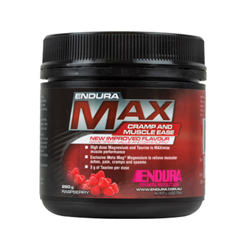 ENDURA MAX CRAMP & MUSCLE EASE RASPBERRY