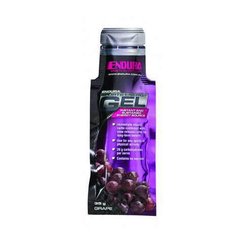 ENDURA ENERGY GEL GRAPE