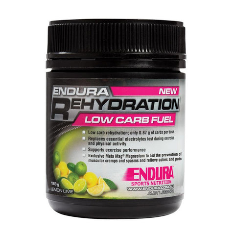 ENDURA REHYDRATION LOW CARB FUEL LEMON/LIME 128G