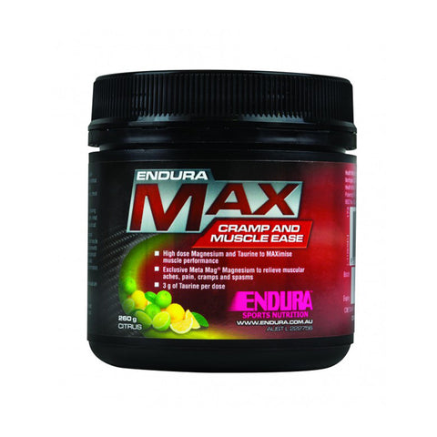 ENDURA MAX CRAMP & MUSCLE EASE LEMON/LIME
