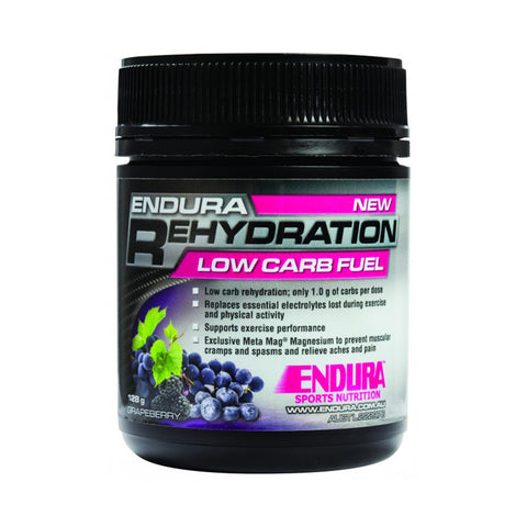 ENDURA REHYDRATION LOW CARB FUEL GRAPEBERRY 128G