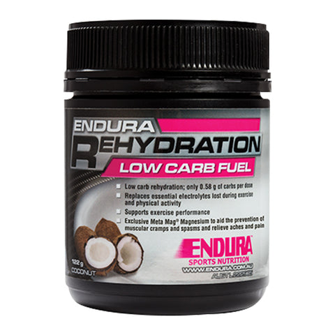 ENDURA REHYDRATION LOW CARB FUEL COCONUT 128G