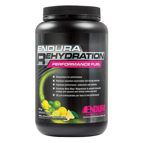 ENDURA REHYDRATION PERFORMANCE FUEL LEM/LIME 2KG
