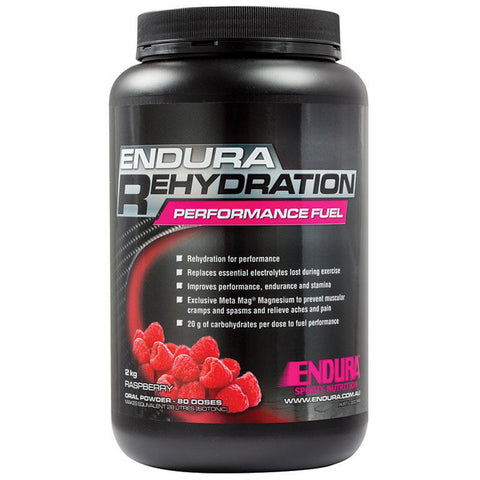 ENDURA REHYDRATION PERFORMANCE FUEL RASPBERRY 2KG