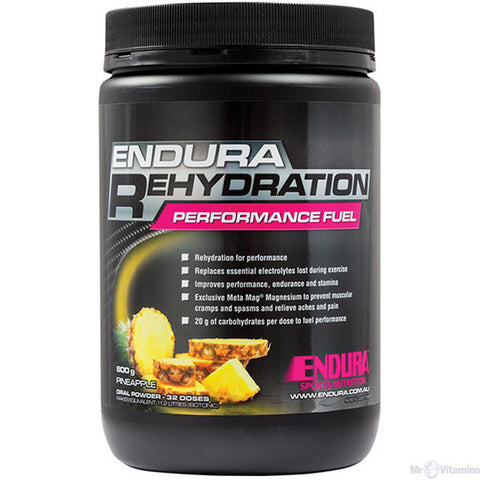 ENDURA REHYDRATION PERFORMANCE FUEL PINEAPPLE 800G