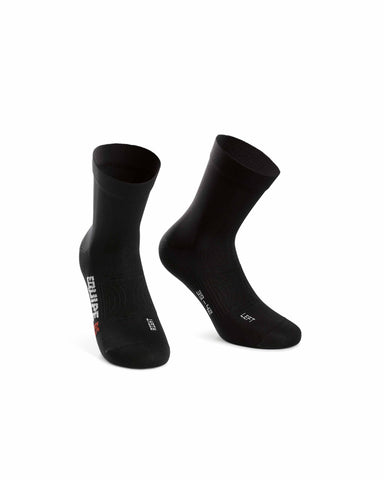 ASSOS SOCKS RS PROF BLACK - SIZE 0