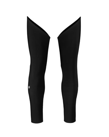 ASSOS LEG WARMERS EVO 7 BLOCK BLACK - SIZE 0