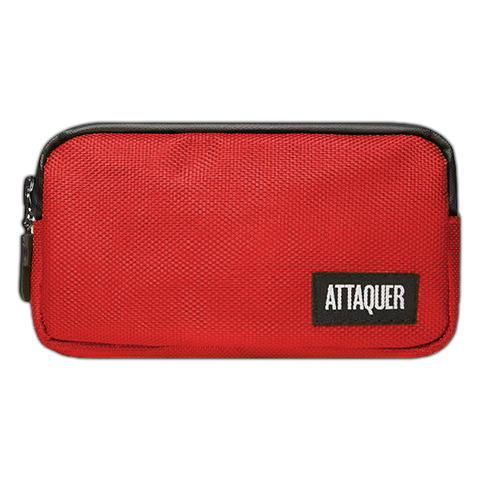 ATTAQUER NYLON POCKET POUCH - RED