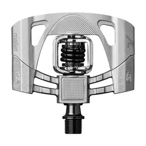 CRANKBROTHERS MALLET 2 PEDALS RAW/SILVER