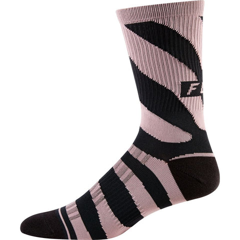 "FOX 2019 WOMEN'S 8"" TRAIL SOCK PURPLE HAZE - OS"