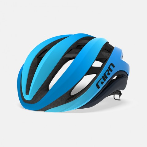 GIRO AETHER HELMET W/MIPS MATTE BLUE - MEDIUM
