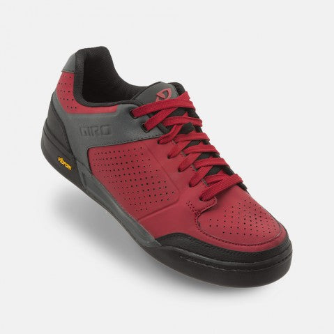 GIRO RIDDANCE MTB SHOE - DARK RED/DARK SHADOW - SIZE 47