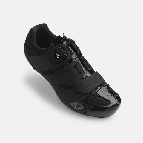 GIRO SAVIX ROAD SHOE - BLACK - SIZE 42