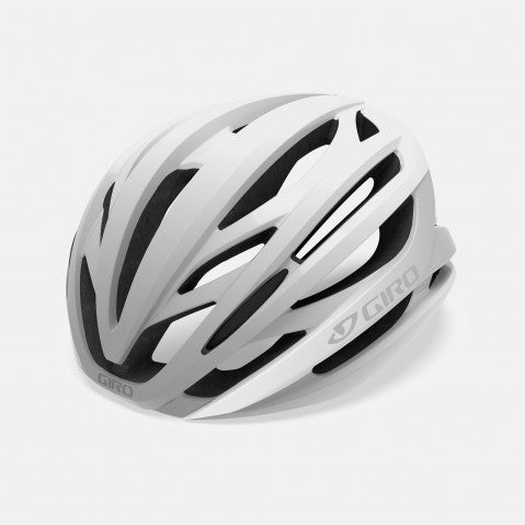 GIRO SYNTAX HELMET W/MIPS WHITE/SILVER - MEDIUM