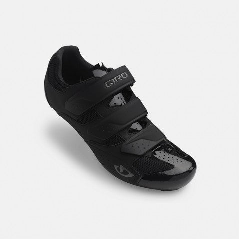 GIRO TECHNE ROAD SHOE - BLACK - SIZE 47