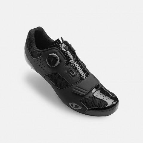 GIRO TRANS BOA ROAD SHOE - BLACK - SIZE 48